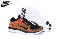 cheap for discount 1d126 43800 Mens Womens Nike Free 4.0 Flyknit Shoes Black Bright Crimson Multicolor  631053-009,Wholesale