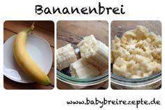 Bananenbrei Rezept zum Selbermachen - Babybreirezepte zum Selberkochen.