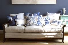 Amazing sofa. Check out Bluebellegray website