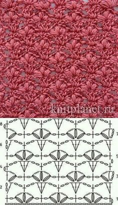 Crochet Motifs, Crochet Stitches Patterns, Crochet Diagram, Crochet Shawl, Stitch Patterns, Knit Crochet, Knitting Patterns, Quilt Patterns, Crochet Afghans