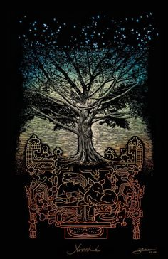 Yaxch`e árbol del conocimiento Maya