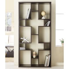 Furniture of America Austin Unique Contouring Bookcase / Display Stand - Overstock™ Shopping - Great Deals on Furniture of America Media/Bookshelves