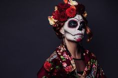 Day of the dead uploaded by Georgina Rivera on We Heart It