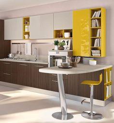 Marchio Cucine Lube modello Swing. Azienda di cucine made in Italy, garanzia di qualità e design. Solo da Arredalcasa a Torino in corso Grosseto 241.
