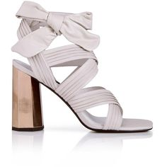 Senso Neave Tie Up Sandals (1 505 SEK) ❤ liked on Polyvore featuring shoes, sandals, heels, stone, self tying shoes, high heel shoes, ankle wrap shoes, high heel sandals and ankle strap heel sandals