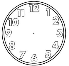 Blank Clock Face Clip Art 001 See the category to find more printable coloring sheets. Also, you could use the search box to find what you want. Online Coloring Pages, Coloring Pages For Kids, Graveuse Laser, Blank Clock Faces, Clock Clipart, Art Clipart, Clock Face Printable, Clock Tattoo Design, Clock Tattoos
