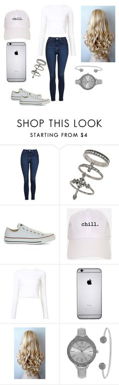 """""""Untitled #19"""" by alinablx ❤ liked on Polyvore featuring Topshop, Miss Selfridge, Converse, Proenza Schouler and SO & CO"""