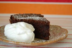 Chocolate beet cake - mmm, maybe serve it with Mascarpone cheese?