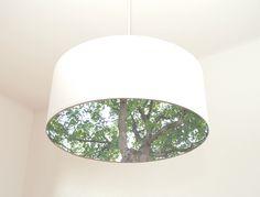 35cm Designerleuchte mit Waldblender von HALBEINS  auf DaWanda.com
