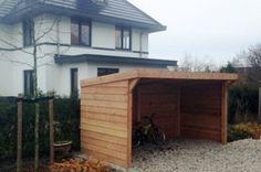 My House, Shed, Outdoor Structures, Garden, Bike Shelter, Homes, Garten, Lawn And Garden, Gardens