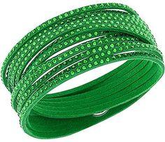 Swarovski Slake Green Bracelet