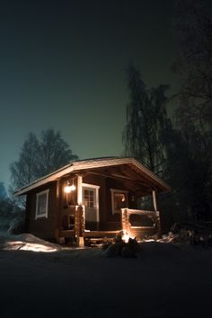 Photograph Sauna by Jaakko Höykinpuro on Outdoor Sauna, Finnish Sauna, Infrared Sauna, Scandinavian Home, Lodges, Country Decor, Sauna Ideas, Home And Family, Relax
