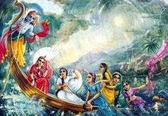 Surrender to me & you will cross over the great ocean of material suffering. #Bhagavadgita