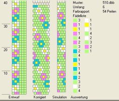 6 around bead crochet rope pattern Beaded Necklace Patterns, Crochet Beaded Bracelets, Bead Crochet Rope, Seed Bead Bracelets, Jewelry Patterns, Beaded Jewelry, Tapestry Crochet Patterns, Bead Loom Patterns, Peyote Patterns