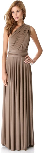 Love this...but in a different color - Convertible Maxi Dress - Lyst
