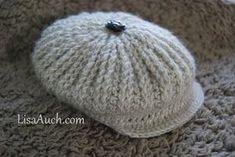 Newborn Crochet Patterns Free Crochet Newborn Hat Pattern perfect for a boy. Crochet this delightful ribbed, crochet hat with… Newborn Crochet Hat Pattern, Crochet Pattern Free, Bonnet Crochet, Crochet Cap, Crochet Baby Hats, Crochet Beanie, Crochet Patterns, Ribbed Crochet, Crochet Cardigan