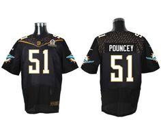 15cc423eb ... repjerseys.ru Miami Dolphins 51 Mike Pouncey Black 2016 Pro Bowl Nike  Elite Jersey .
