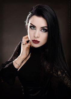 Gothic and Amazing — Model: Lady Kat Eyes Photographer:...
