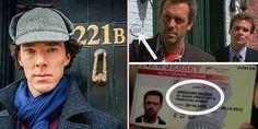 """""""House M.D."""", Sherlock Holmes'ten esinlenerek oluşturulmuş. House'un apartman numarası da Sherlock Holmes'un apartman numarası olan 221B'dir."""