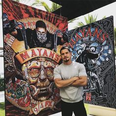 JD Pardo - Blown away by the artwork for Mayans. Thanks to all of you for coming out in support for our show. Chicano Love, Fantasy Male, Raining Men, Sons Of Anarchy, Thug Life, Good Looking Men, Favorite Tv Shows, Favorite Things, Beautiful Men