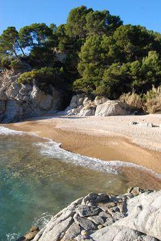 Tossa de Mar Cala Figuera ( nudista) Girona Catalonia