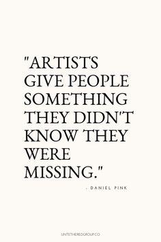 26 Inspirational Quotes Creativity – Giga DIY #artist quotes