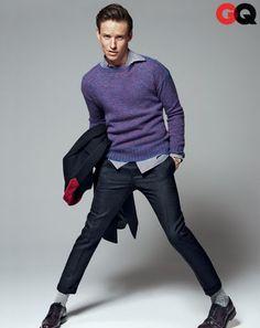 Eddie Redmayne in GQ - Men's Fall Fashion 2013 Preview