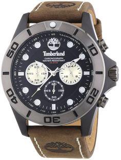 Timberland 13909JSBU.02 Mens Black Brown Northfield Chronograph Watch