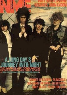 """poison303: jesus I guess this was a short-lived (3 days!) supergroup with Lydia Lunch, Nick Cave, Marc Almond and JG Foetus Thirwell. 1983! big hair on parade….. """