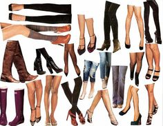 collage Sheet: legs by autumnsensation, via Flickr