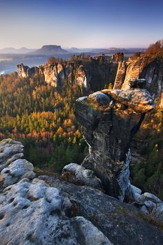 Saxon Spring by Martin Rak, via 500px; Saxon Switzerland National Park, Germany