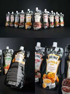 WARBYASAH !! Heinz - packaging design finished sauces from UNIQA CE #packaging