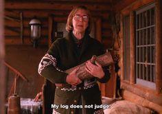 twin peaks david lynch log log lady