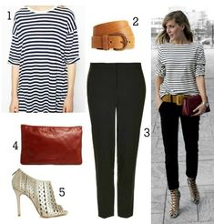 Parisian Chic Style Outfit Fashion 2