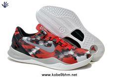 Cheap Nike Kobe 8 VIII System Milk Snake 555035-601 University Red Sail- 3076f026c