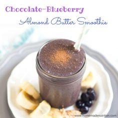 Blueberries, cocoa p