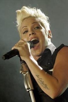 Alecia Moore (PINK)...For listening her songs  visit our Music Station http://music.stationdigital.com/  #aleciamoorepink