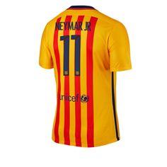 2015-16 Barcelona Away Jersey (11 Neymar JR)