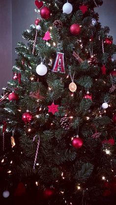 Xmas tree diy decorations