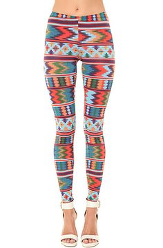 The Coachella Legging by See You Monday is a MUST HAVE for any music festival, but especially Coachella...duh. Plus the style combos are endless with the prints and colors. #MissKL #MissKLCoachella