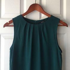 F21 Dark teal sleeveless dress Short, sleeveless, A-line mini dress Forever 21 Dresses Mini