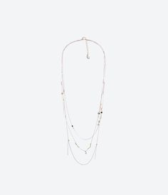 ZARA - WOMAN - Untitled jewels collection chain necklace