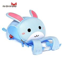 64e9a0715284 NOHOO 3D Animals Printing School Backpacks for Children Waterproof Cartoon  Kids School Bags for Girls Mochila Escolar