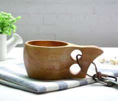 Kuksa Finland Wooden Cup HandCraft Dual Ring Coffee Mug Handmade Decor Tableware Handmade Decorations, Moscow Mule Mugs, Coffee Mugs, Tableware, Rest, Health, Dinnerware, Health Care, Coffee Cups