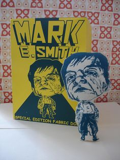 Mark E. Smith doll! Unlikely to be best seller?