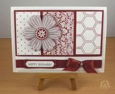 stampin up, card birthday