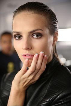 Backstage at Sophie Theallet | A Rainbow of Beauty Trends To Try This Spring