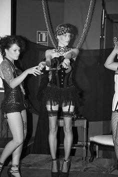 SEDUCTION FASHION DESIGN @ XTRA LRGE PLAYGROUND  27 / 07 / 2013  Yana Oblap  InTorzo  La Morgue Creations  Lorena Argüello – Moon Dark  Han colaborado en este evento Fetitxe Valencia, Sessantanove y la música en directo de Dj Terrans. Juan Solbes photography.
