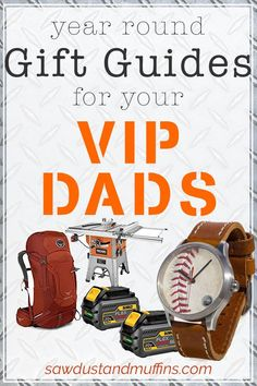 Gift guides for the VIP Dads in your life: holidays, birthdays, Father's Day, sports, tools, recipes, baseball, camping, solar lights, Home Depot, MLB, Dodgers, Mets, Osprey, Kestrel, backpack Home Organization Hacks, Organizing, Balancing Work And Family, Teaching Kindness, Montessori Toddler, Parenting Toddlers, Parent Resources, Fiestas
