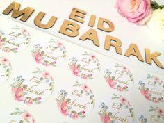 #eidfavours #eidfavors #eiddecor #eidstickers #shinebrightstickers Eid Favours, Favors, Eid Stickers, Eid Eid, Eid Mubarak, Ramadan, Pink Flowers, Bright, Kids